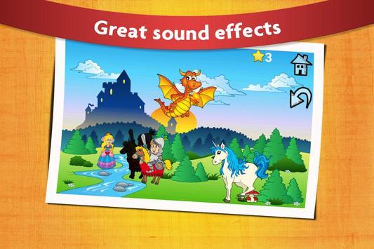 Kids Peg Puzzle - Free Toddler Shape Games screenshot 1