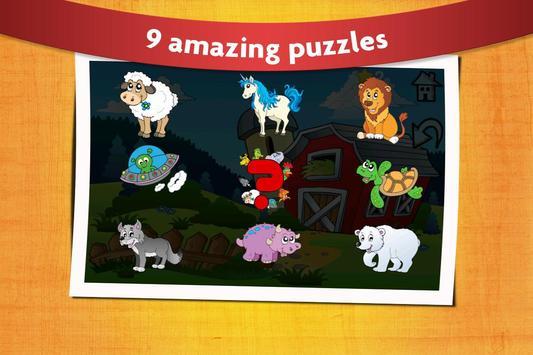 Kids Peg Puzzle - Free Toddler Shape Games screenshot 2
