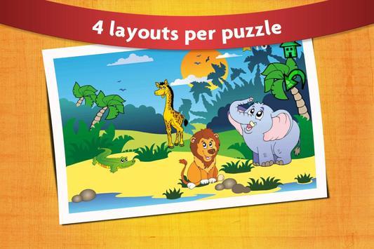 Kids Peg Puzzle - Free Toddler Shape Games screenshot 3