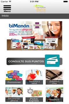 Farmacia Bahía del Rosario poster