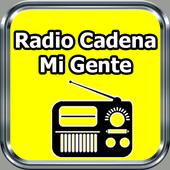 Radio Cadena Mi Gente Gratis En Vivo El Salvador icono