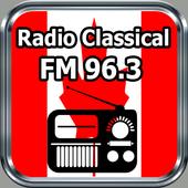 Radio Classical FM 96.3 Toronto – Canadá Free. icon