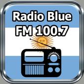 Radio Blue FM 100.7 Gratis Online Argentina icon