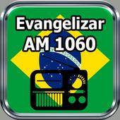 Rádio Evangelizar AM 1060 Grátis Online Brasil icon