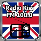 Radio Kiss FM - FM 100.0 Free Online icon