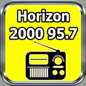 Radio Horizon 2000 95.7 FM Free Live Haïti icon