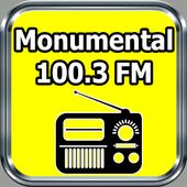 Radio Monumental 100.3FM Gratis En Vivo Dominicana icon