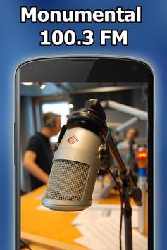 Radio Monumental 100.3FM Gratis En Vivo Dominicana screenshot 8