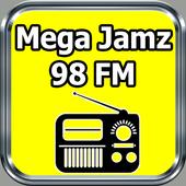 Radio Mega Jamz 98 FM 98.7 Kingston Free Live icon