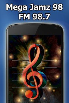 Radio Mega Jamz 98 FM 98.7 Kingston Free Live screenshot 3