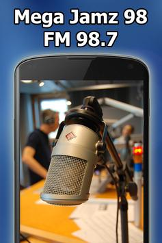 Radio Mega Jamz 98 FM 98.7 Kingston Free Live poster