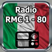 Radio RMC 1 - 80 Italia Online Gratis icon