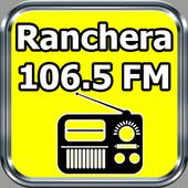 Radio Ranchera 106.5 FM Gratis En Vivo El Salvador أيقونة