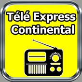 Radio Télé Express Continental 89.9 FM Free Live icon