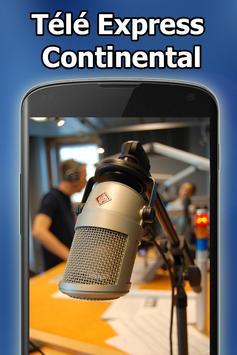 Radio Télé Express Continental 89.9 FM Free Live poster