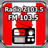 Radio Z103.5 FM 103.5 Toronto – Canadá Free Online icon