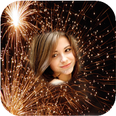 New Year 2018 Fireworks Photo Frames New icon