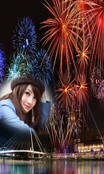 New Year 2018 Fireworks Photo Frames New apk screenshot