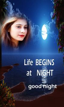 Good Night Photo Frames New poster
