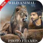 Wild Animals Photo Frames New icon