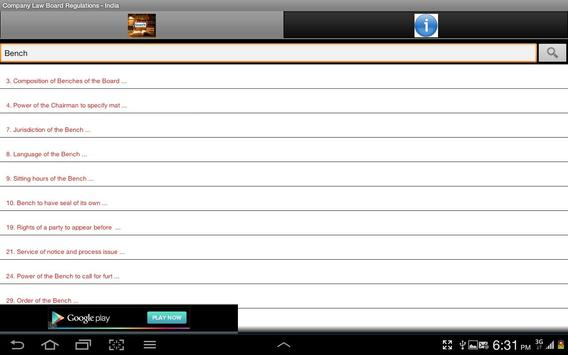 Company Law Board Regn.-India screenshot 14