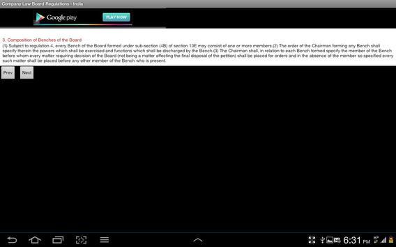 Company Law Board Regn.-India screenshot 15