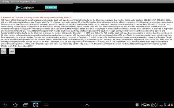 Company Law Board Regn.-India screenshot 16