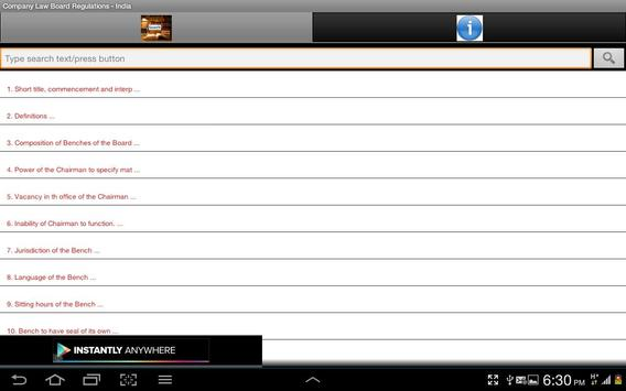 Company Law Board Regn.-India screenshot 12