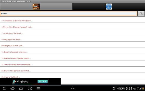 Company Law Board Regn.-India screenshot 8