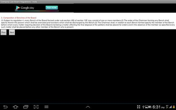 Company Law Board Regn.-India screenshot 9