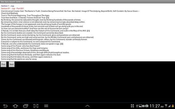 Shri Guru Granth Sahib Ji apk screenshot