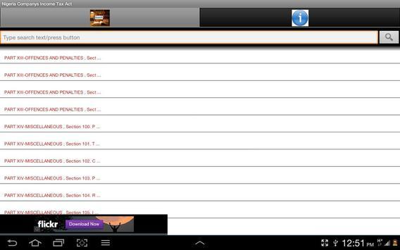 Companies IncomeTaxAct-Nigeria apk screenshot