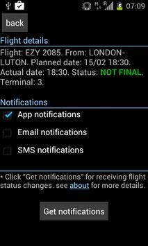 Tel Aviv Flight-Board screenshot 1