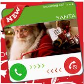 Video Call Santa Christmas icon