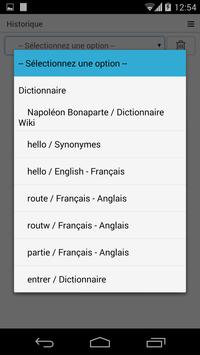 Free French Dictionary apk screenshot