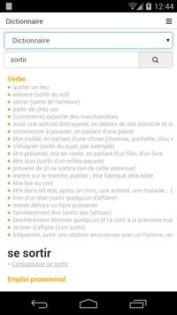 Free French Dictionary poster