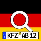 Deutsche Kennzeichen-Finder mit Karte icon