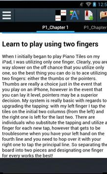 Guide for Piano Tiles 2 apk screenshot