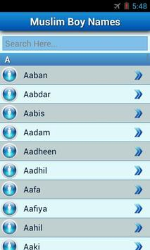 Muslim Baby Names and Meaning! screenshot 1