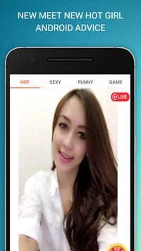 Live Video Chat Girl Advice screenshot 2