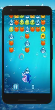 Bubble Shark Shooter Ocean Pop poster