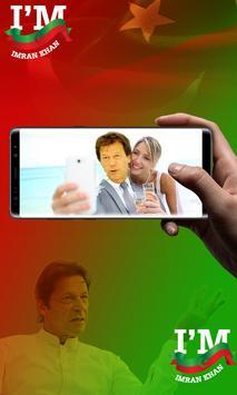 PTI Flag Face Sticker - Selfie with Imran Khan screenshot 2