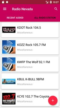 Nevada Internet Radio , Music and News apk screenshot