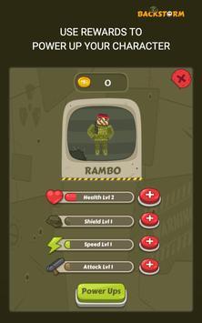 Backstorm Rambo Endless Runner screenshot 12