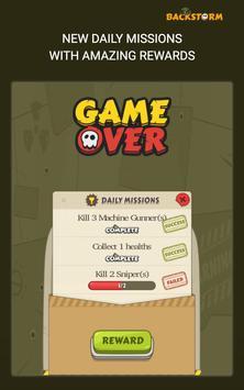 Backstorm Rambo Endless Runner screenshot 14