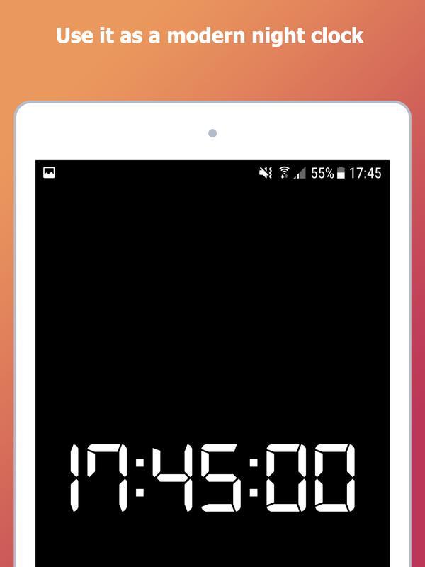 aaf5fbaca20 ... Relógio de Alarme  Despertador Falante com Musicas imagem de tela 15 ...
