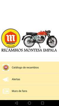 Recambios Montesa Impala poster