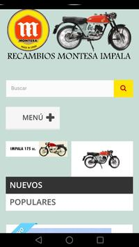 Recambios Montesa Impala apk screenshot