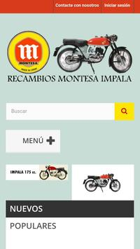 Recambios Montesa Impala screenshot 4