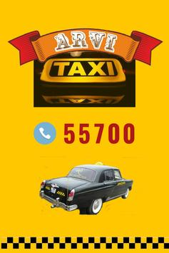 ARVI TAXI poster
